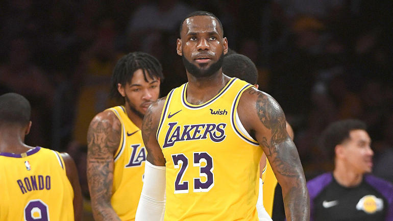 17a4b5e101a Lebron James Set To Miss Multiple Games With  Significant  Injury ...