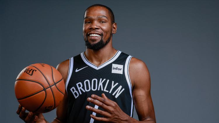 Kevin Durant shines in complete game for the Nets