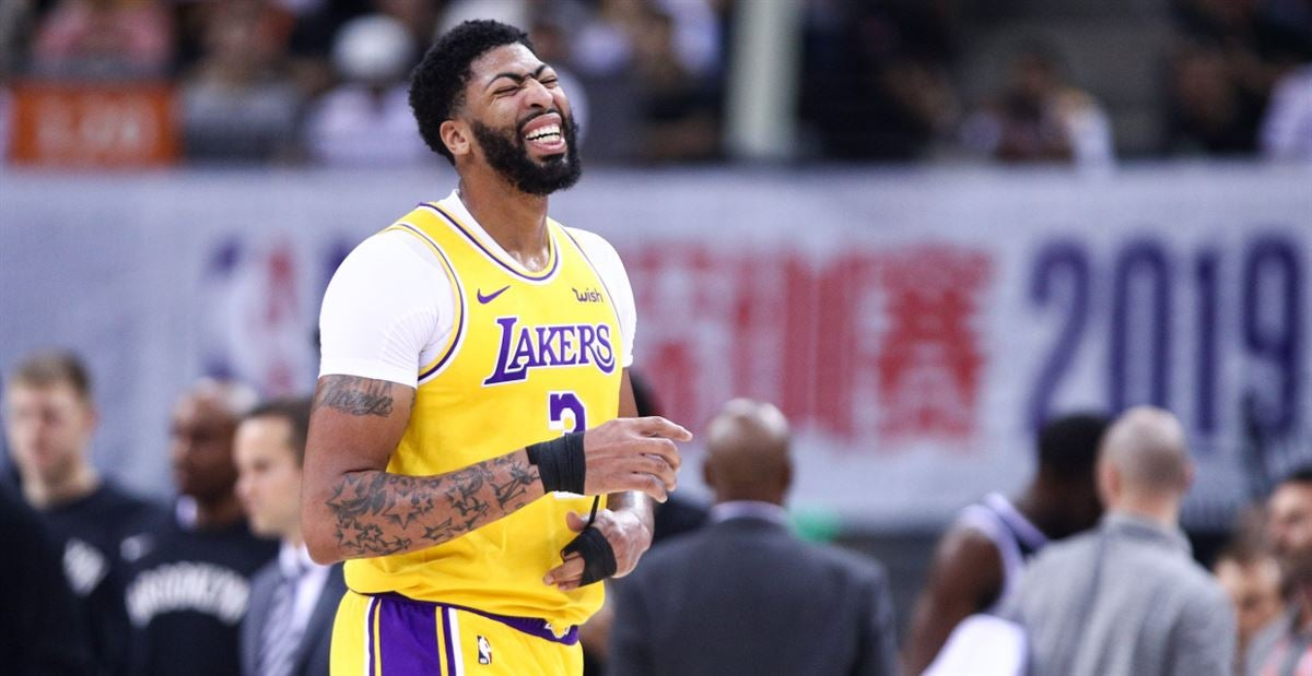 Anthony Davis Heating Up For The Lakers