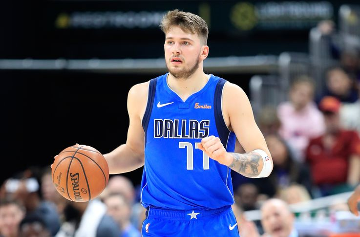 Luka Doncic records an historic triple-double