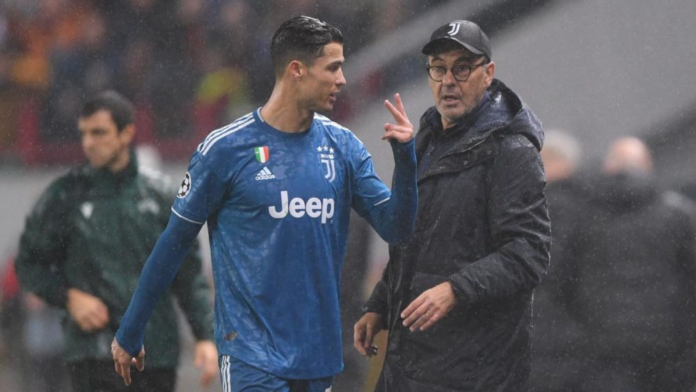 """A Frustrated Ronaldo Tells Coach To """"Go Away"""" After Two Substitutions In A Week"""