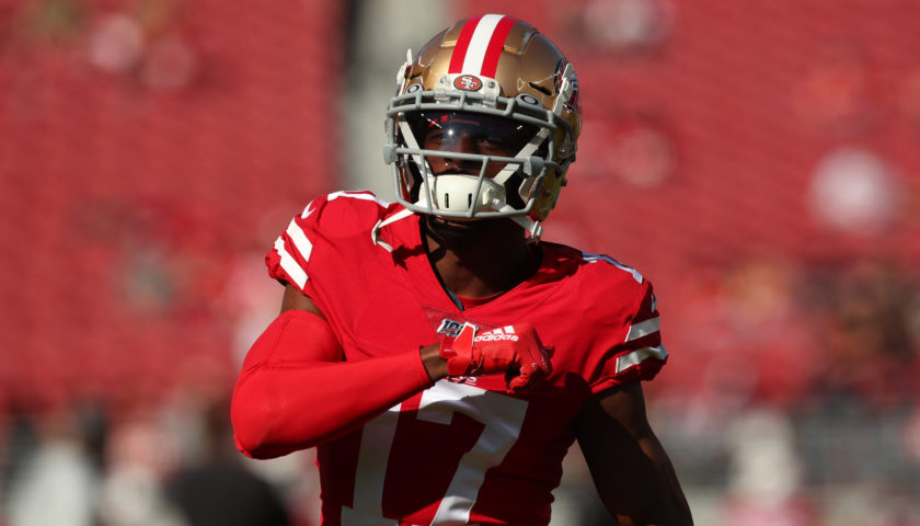 Saints sign Emmanuel Sanders from the 49ers