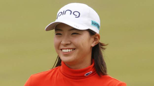 Last five LPGA winners who won a major as their first title