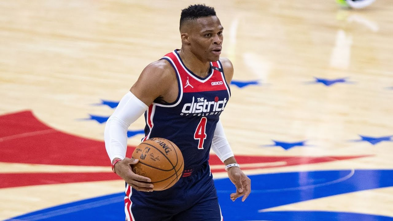 Russell Westbrook becomes first NBA player to have two career 20-assist and 20-rebound games
