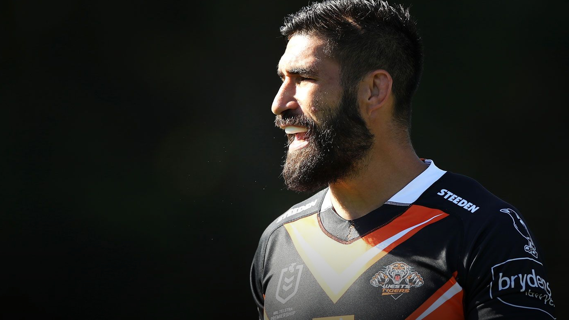 """""""We have to do it"""": James Tamou backs Tigers to beat odds in NRL finals race"""