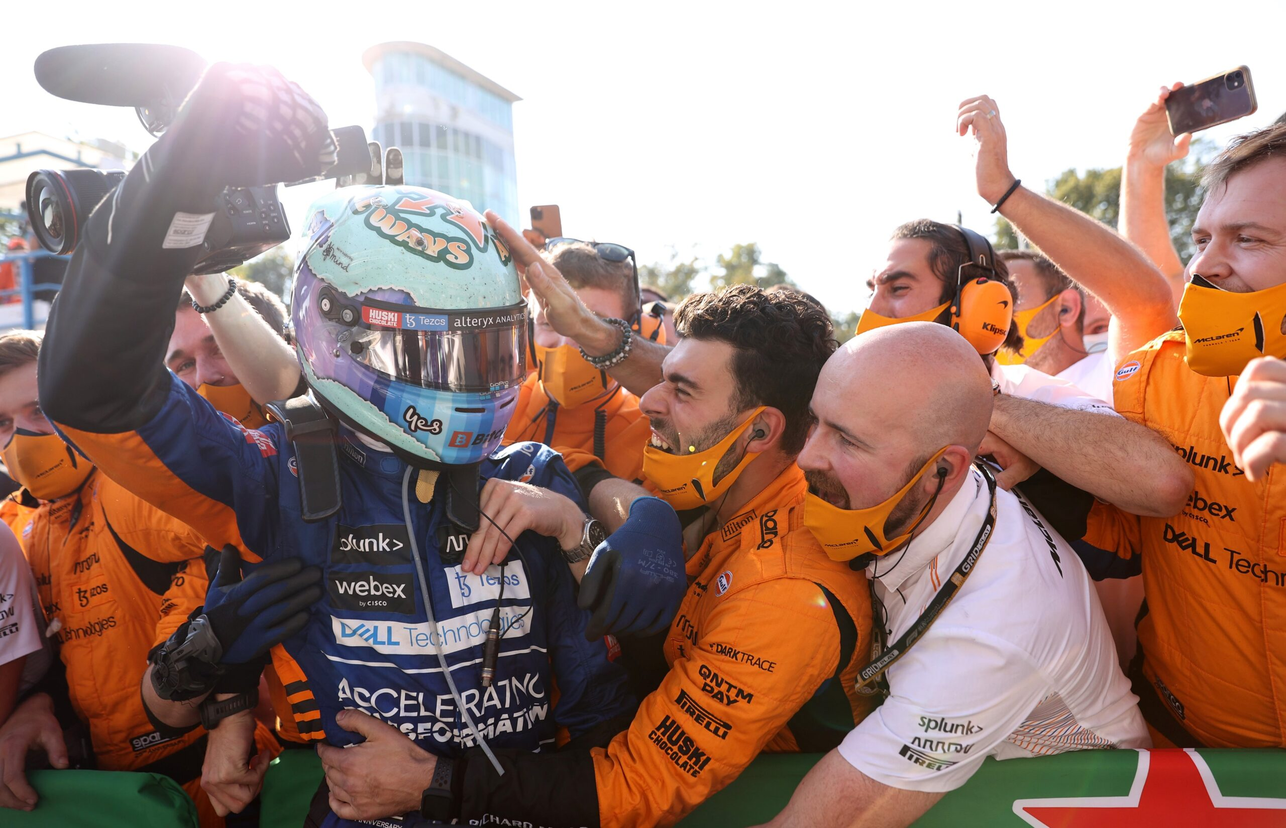 'About f**king time': Ricciardo pulls off McLaren miracle in Monza to silence F1 doubters