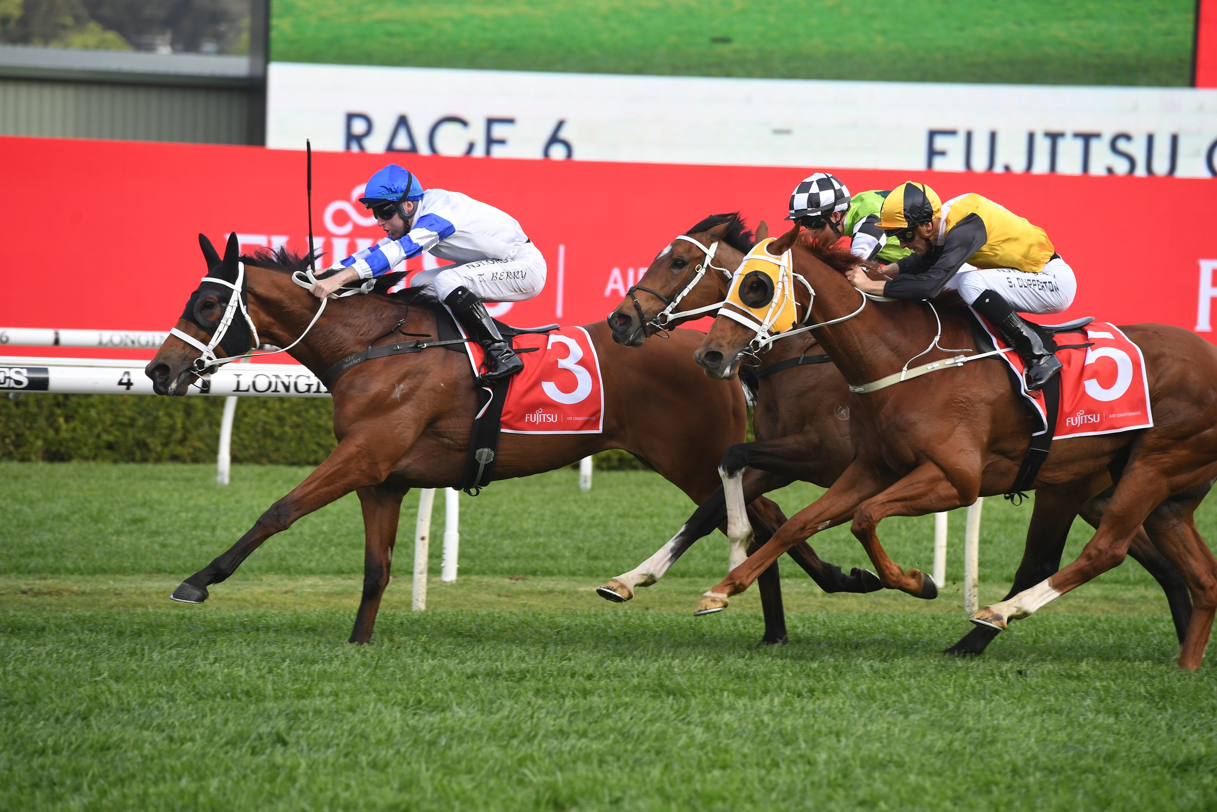 Group 1 fields out for Saturday